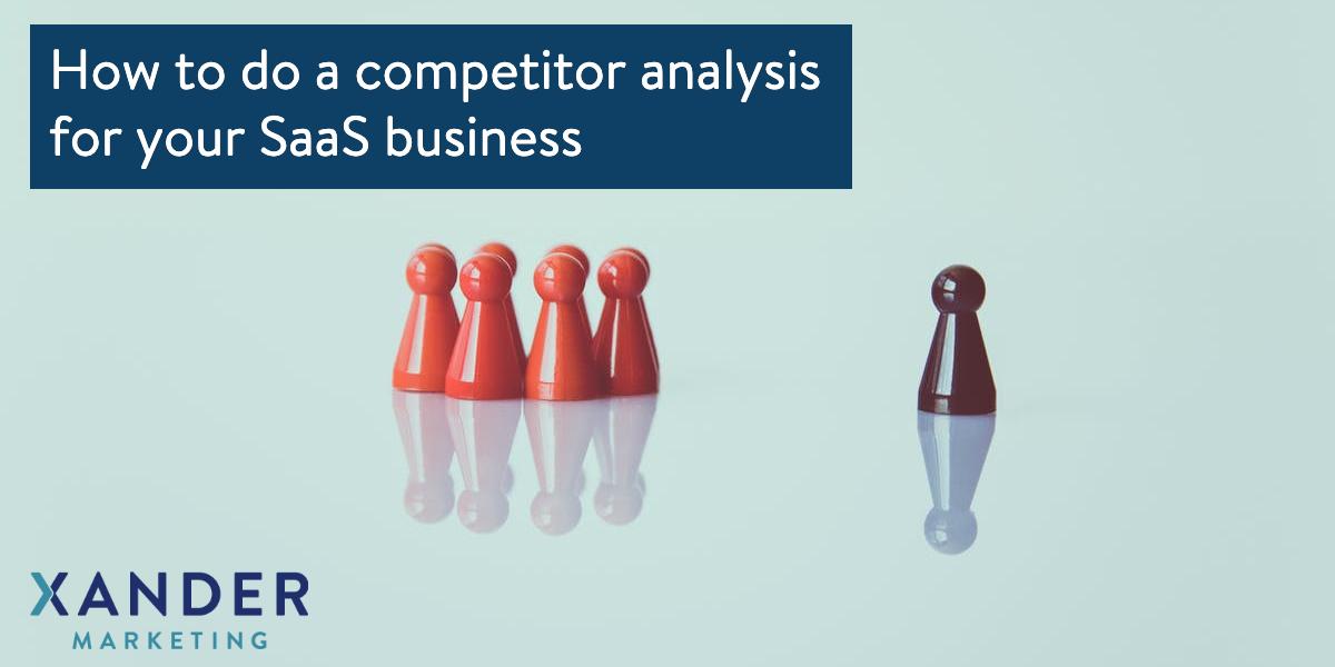 SaaS competitor analysis